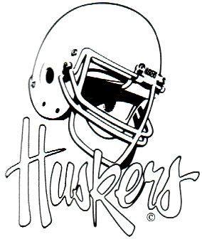 nebraska husker football coloring pages  morgan