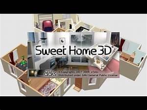 sweet home 3d est un logiciel libre d39amenagement d With logiciel plan de maison 3d