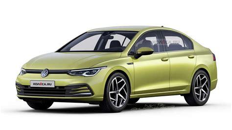 2020 Volkswagen Golf Sedan Rendering Hits The Internet ...