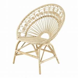 Fauteuil En Osier : fauteuil vintage en rotin peacock maisons du monde ~ Melissatoandfro.com Idées de Décoration