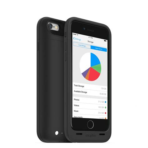 add storage to iphone 6 iphone 6 space pack storage free shipping mophie
