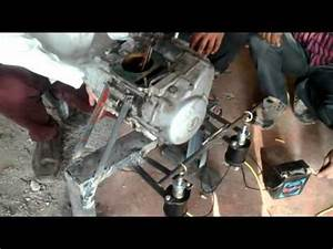 Button operated Gear shifting Mechanism for two wheeler