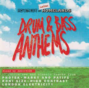 addiction drum bass anthems cd discogs