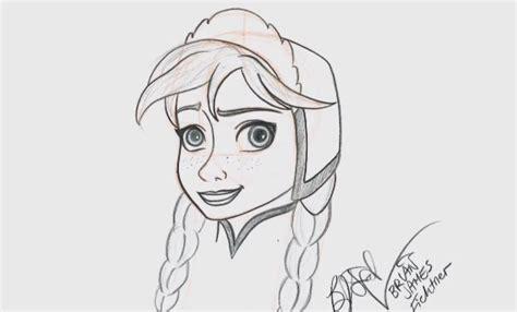 learn   draw frozens anna  disneys hollywood