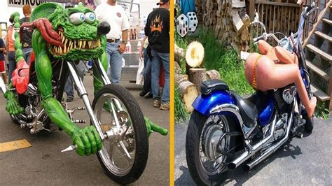 Most Unusual & Weirdest Motorcycles You Have Never Seen