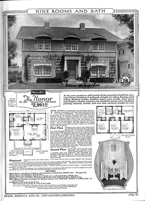 sears catalog kit homes   early  century vintage everyday
