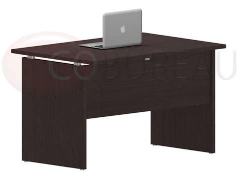 bureau 120 cm bureau droit kamos 120 cm pieds panneaux