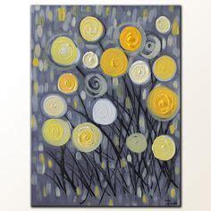 peinture de fleurs moderne 1000 images about peinture et fleurs on toile poppies and