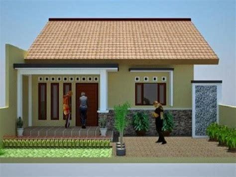 model rumah sederhana tapi indah elegan  kelihatan