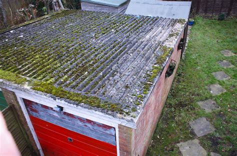 asbestos garage roof removal  replacement gl