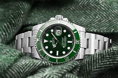 Rolex Clock Watches Submariner Wallpapers Luxury Hulk