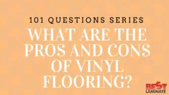 what are pros and cons of vinyl plank flooring for home bestlaminate