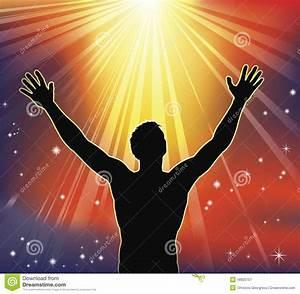 Spiritual, Joy, Stock, Vector, Illustration, Of, Arms, Baptist