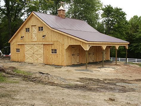 This Is A 36'x36' Modular Horse