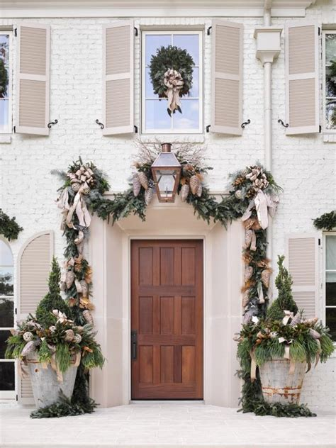 beautiful front door christmas decorations part