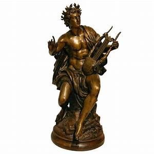 Grand Tour bronze of Apollo, God of music, light, and ...