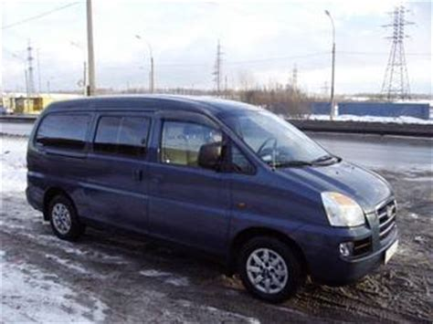 Hyundai H1 Picture by 2005 Hyundai H1 Pictures 2 3l Gasoline Fr Or Rr