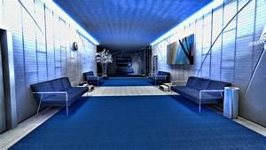 Mirrors Edge, room, interior design :: Wallpapers