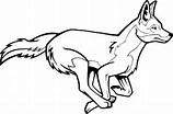 Image result for Free Clip Art of A Coyote