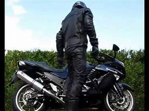 Moto Et Motard : cuir noir et moto youtube ~ Medecine-chirurgie-esthetiques.com Avis de Voitures