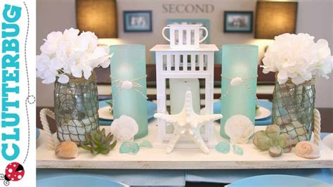 Diy Beach Theme Decor Ideas  Pottery Barn Hack