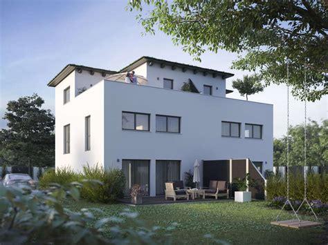 Mit Dachterrasse by Talbau Haus Modernes Stadthaus Mit Dachterrasse