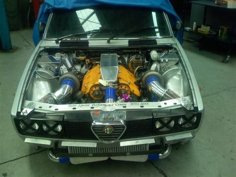 Alfetta Twin Turbo V6 3.0l