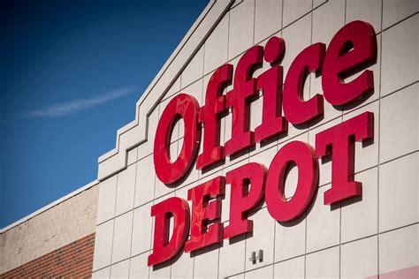 bureau depot office depot shares fall 25 after it admits amazon is