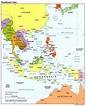Map of Southeast Asia Region | Maps of Asia Regional ...