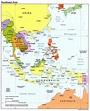 Map of Southeast Asia Region | Maps of Asia Regional ...
