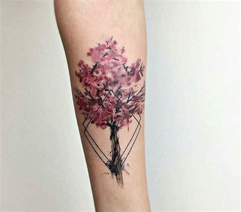 tatouage fleurs de cerisier japonais signification