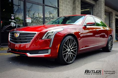 cadillac ct   savini bm wheels exclusively