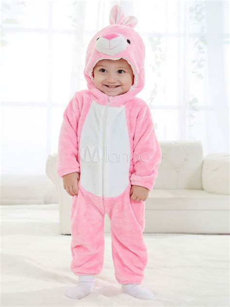 Pink Bunny Suit Toddler Girls Costume Animal Costumes