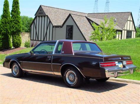 Sell Used 1985 Buick Regal Limited 3.8 Super Clean, Cold A