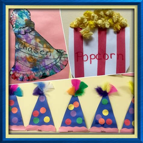 easy crafts for circus themed preschool curriculum 961 | 85da63a6ddfbdcfc4b98c6298a48ae97