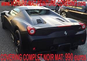 Ferrari 458 Noir : ferrari 458 noir mat 46 ~ Medecine-chirurgie-esthetiques.com Avis de Voitures
