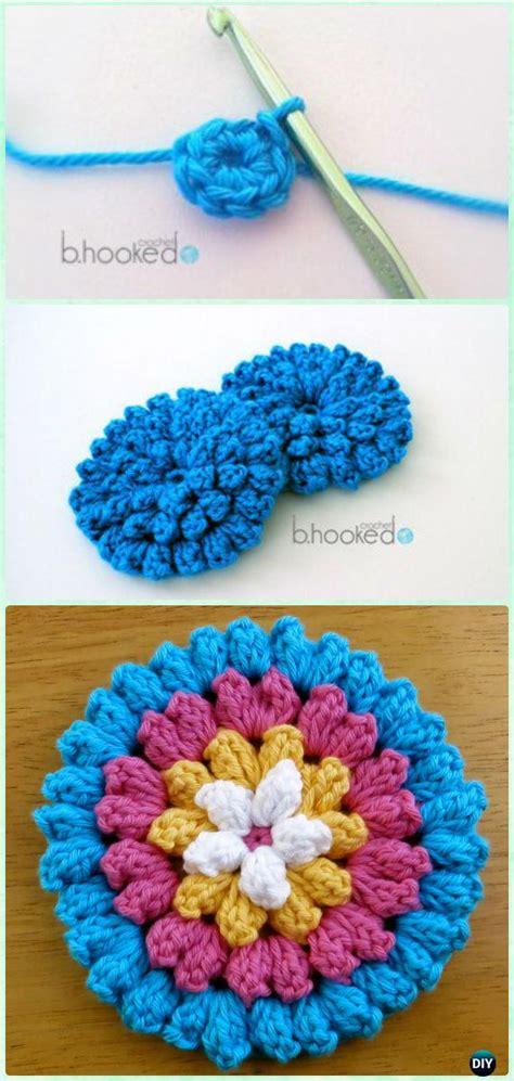 Flower Crochet Valance Pattern