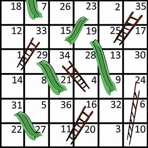 free coloring pages of chutes and ladders With chutes and ladders template