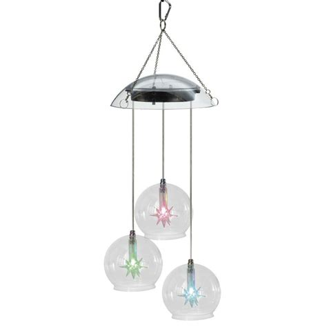 solar garden light solar light wind chimes hanging l
