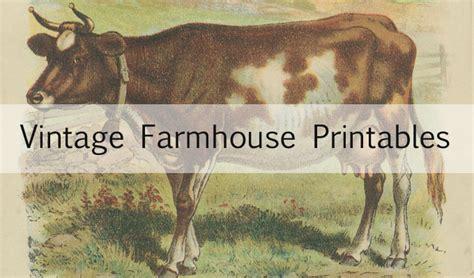 vintage animal printables house  hawthornes