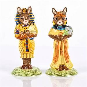 Price Guide For Set Of 2 Royal Doulton Egyptian Bunnykins