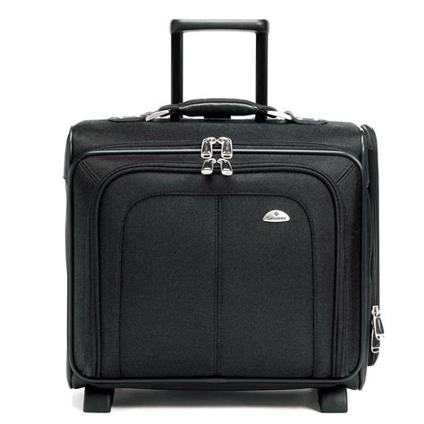 Samsonite Business Sideloader Mobile Office Black Irv