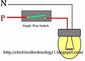 Wiring Light Switch  How To Control A Lamp By 1