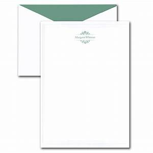 embossed border white letter sheet stationery paperstyle With letter sheets and envelopes