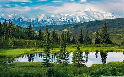Alaska Landscape Mountain Range Wallpapers 4k Desktop