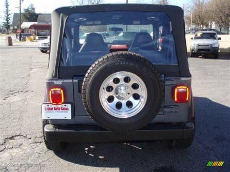 2001 steel blue pearl jeep wrangler sport 4x4 12683937 photo 6 gtcarlot car color