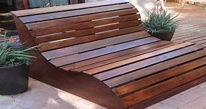 Fabriquer Un Banc De Jardin Original : fabriquer un banc de jardin en bois vernir ou peindre ~ Melissatoandfro.com Idées de Décoration