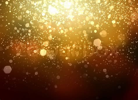 Bright Golden by Gold Abstract Light Background Stock Image Colourbox