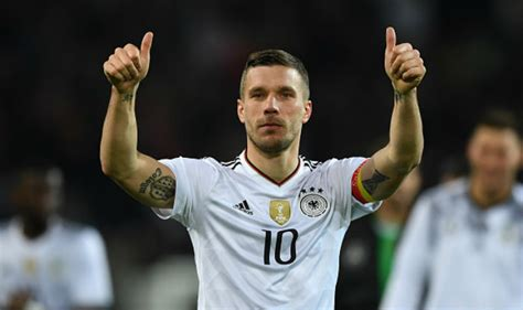 Germany just reached the semi finals of the euros and you just got lukas podolski over here on snapchat posting about how excited he is for the bolognese, lukas podoski ladies and gentleman. Fairytale end for Lukas Podolski as Germany set record ...