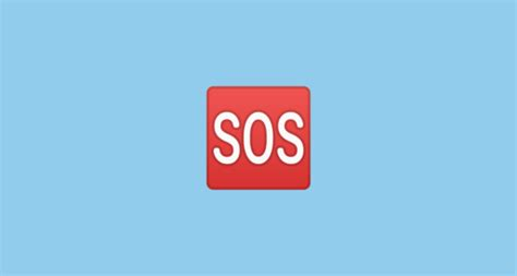 SOS Button Emoji on Google Android 10.0 March 2020 Feature ...